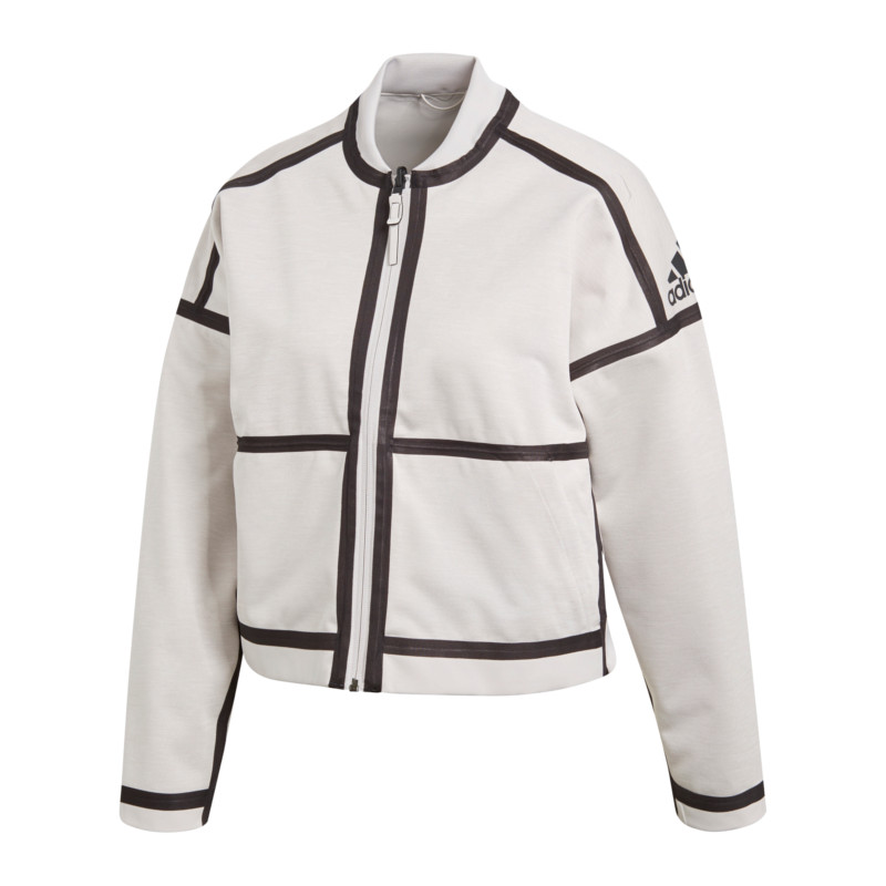 buying new the best lace up in Detalles de Adidas z.n.e. reversible Jacket chaqueta señora Weiss- ver  título original