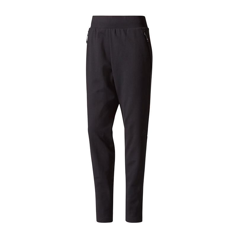 Dettagli su Adidas a N. (e) . Strike Pantaloni Pantaloni Lunghi da Donna  Neri