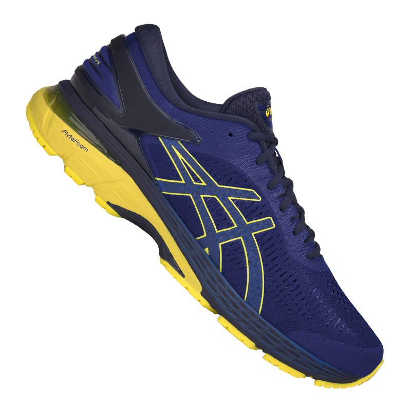 Asics Gel-Kayano 25 Running yellow blue F401