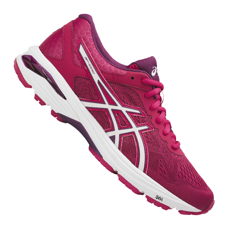 Asics Gt-1000 6 Running Pink Ladies White F2001