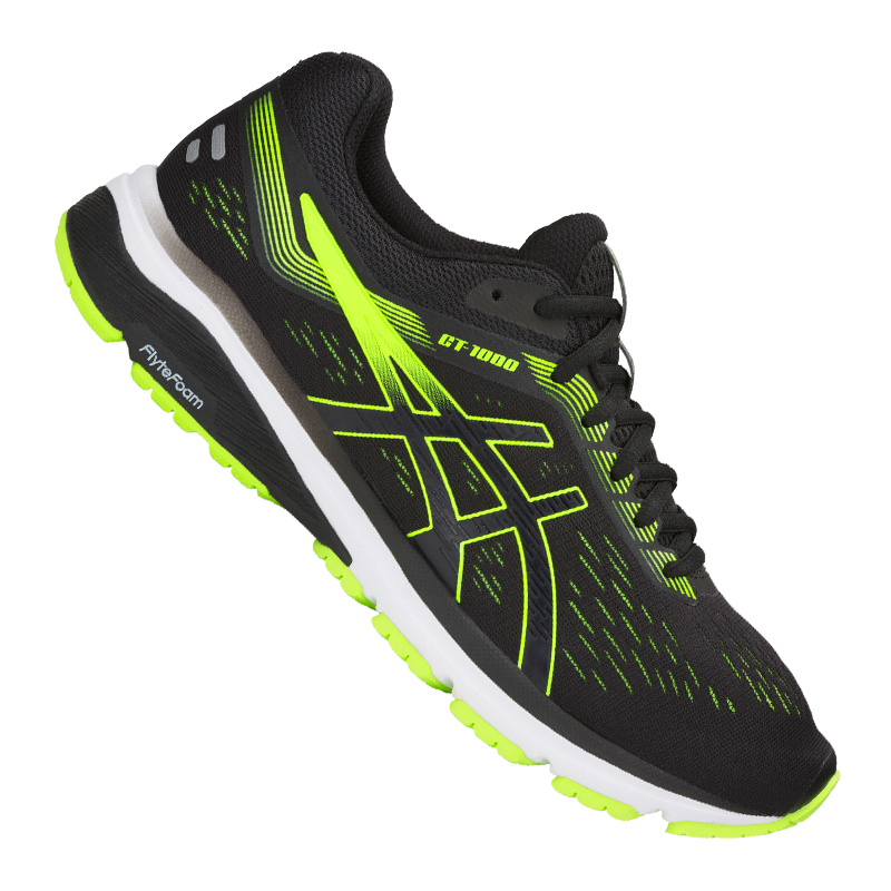 Asics  GT-1000 7 Running black green F004  be in great demand