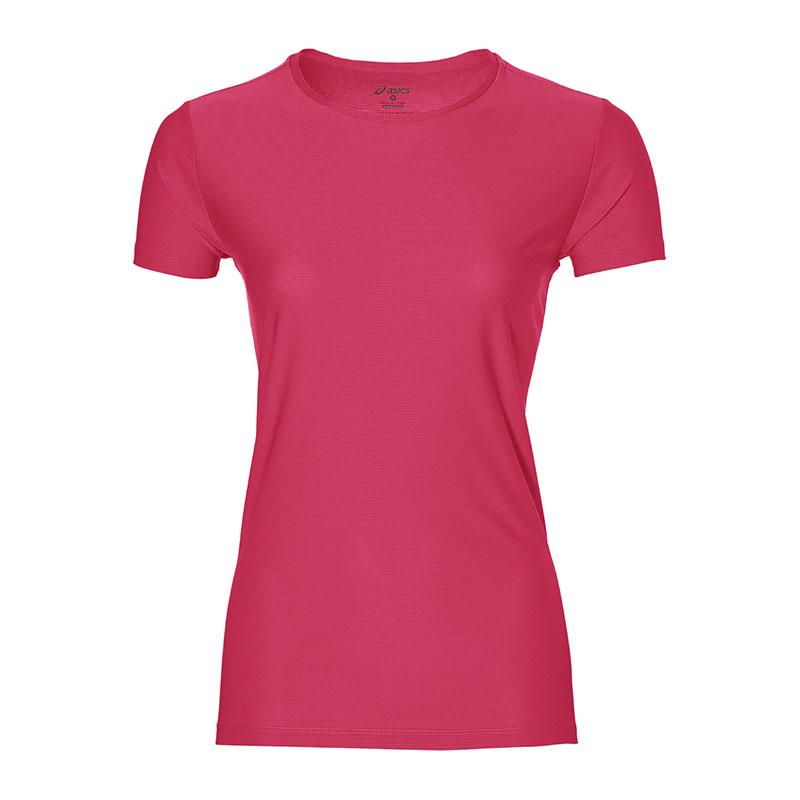 Asics Tee T-shirt Courant Femmes Rose F0640