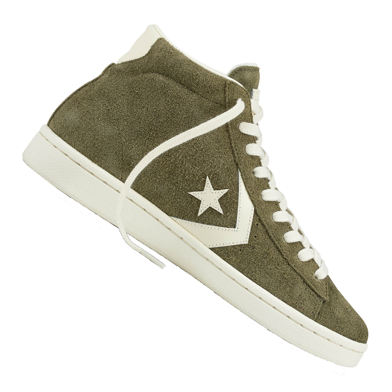 Converse Pro Leather Mid Sneaker Green f348