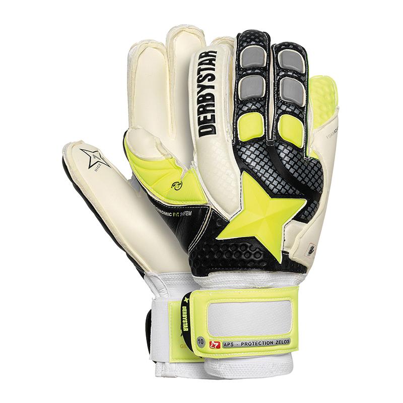 Derbystar APS Protection Zelos Handschuh Schwarz  | Modisch