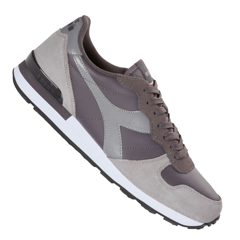 Diadora Camaro Leather Sneaker Grau C7034