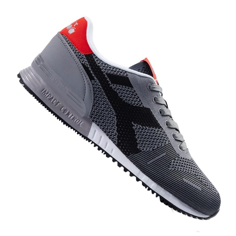DIADORA TITAN TRAMA Sneaker grigiie NERO C3362