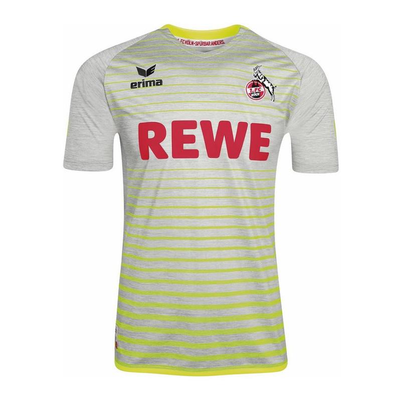 Erima 1. FC Köln Trikot 3rd 17/18 Grau Gelb