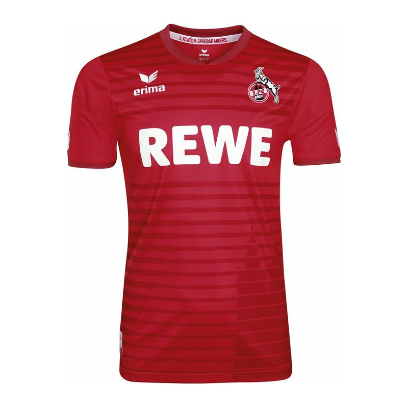 Erima 1. FC Köln Trikot Away 17/18 Rot