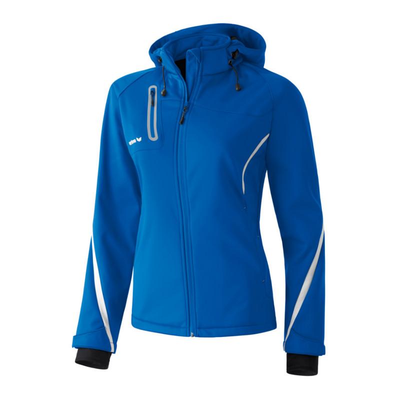 Erima Softshell Jacke Jacke Jacke Active Wear Damen Blau 5b054c