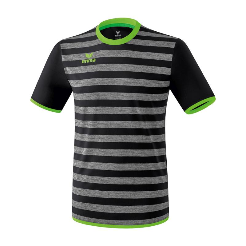 5be4f35a55 La imagen se está cargando Erima-Barcelona-Camiseta-Manga-Corta-Negro-Verde