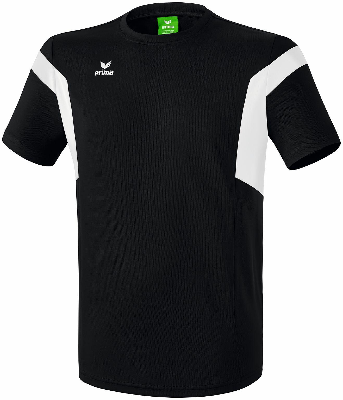 Erima Classic Team Camiseta Niños Negro Negro Negro Blanco aecf21