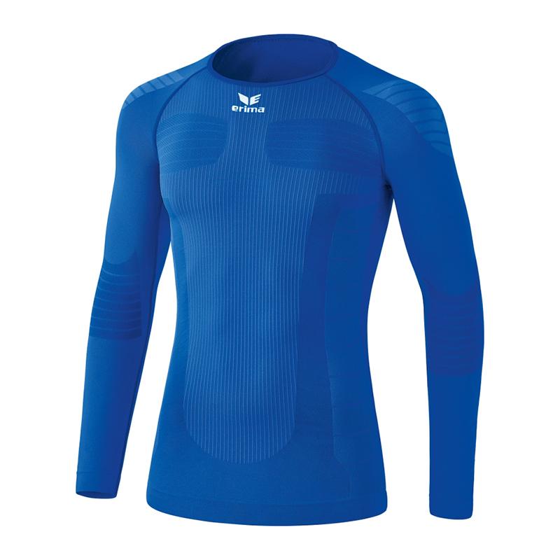 Erima Functional Shirt à Manches Longues Enfants Bleu Vous Garder En Forme Tout Le Temps