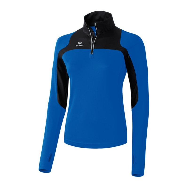 Line blue women Lunghe Maniche Corsa Race Erima