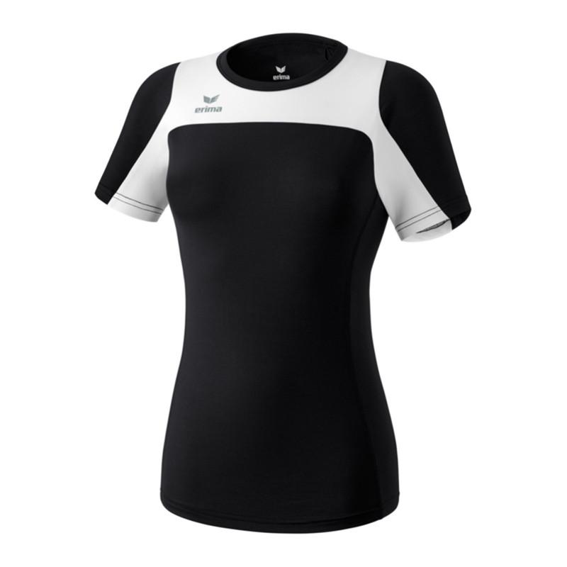 Erima Race Line Running T-shirt Femme Noir
