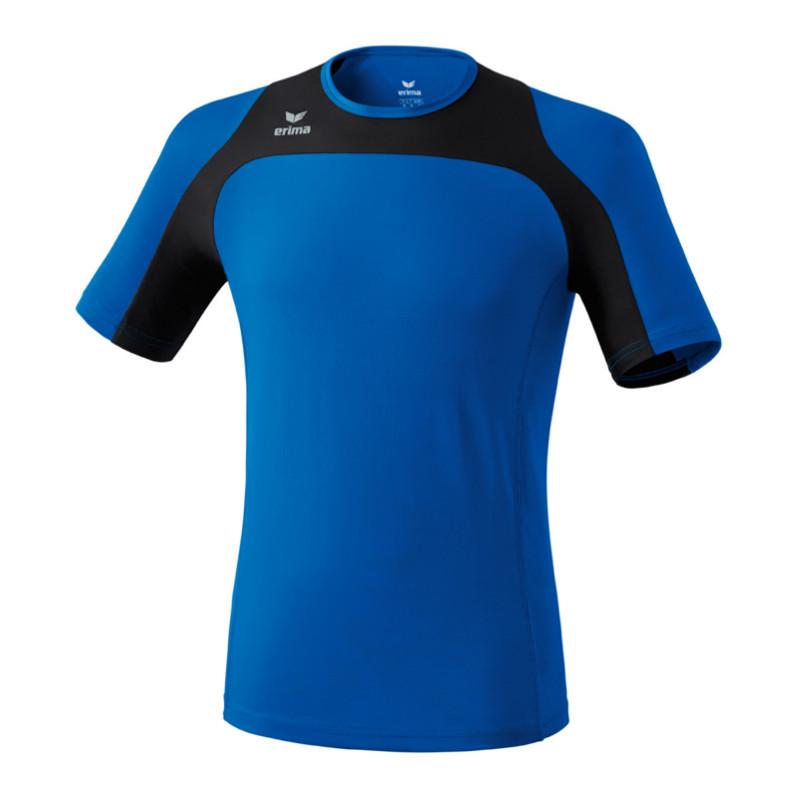 Erima Race  Línea Running Camiseta bluee black  with 60% off discount