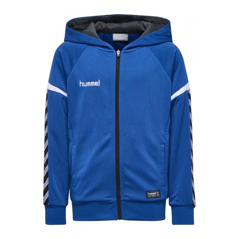 Hummel AUTHENTIC LOTTO Giacca con cappuccio blu f7045