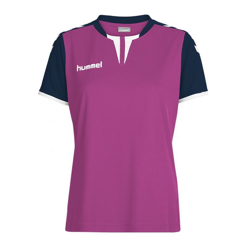 Hummel-Nucleo-Camiseta-Manga-Corta-Mujer-Rosa-F4329