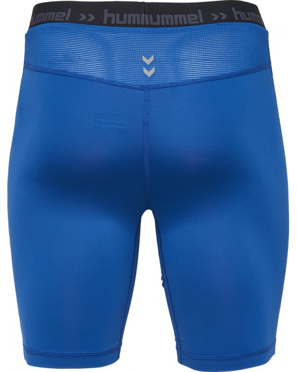 Hummel-First-Performance-Shorts-Tights-Blue-F7045 thumbnail 2
