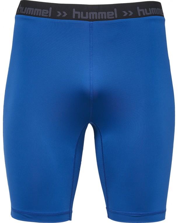 Hummel-First-Performance-Shorts-Tights-Blue-F7045