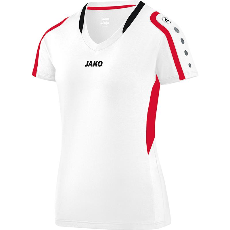 Jako Bloquear Camiseta Mujer F00 Blanco Rojo F00 Mujer 4751e0