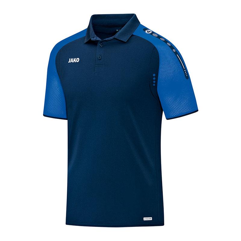 100% De Qualité Jako Champ Polo Shirt Bleu F49 100% De MatéRiaux De Haute Qualité
