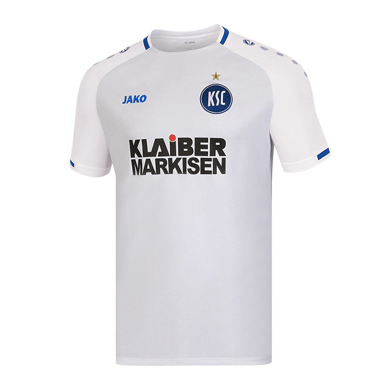 Jako Karlsruher SC Trikot Away Away Away 2018 2019 Weiss F00 740f09