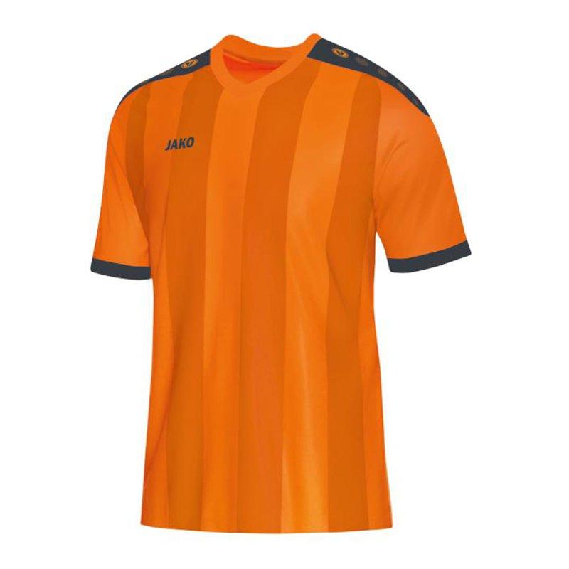 Jako-Camiseta-Manga-Corta-Naranja-Gris-F21