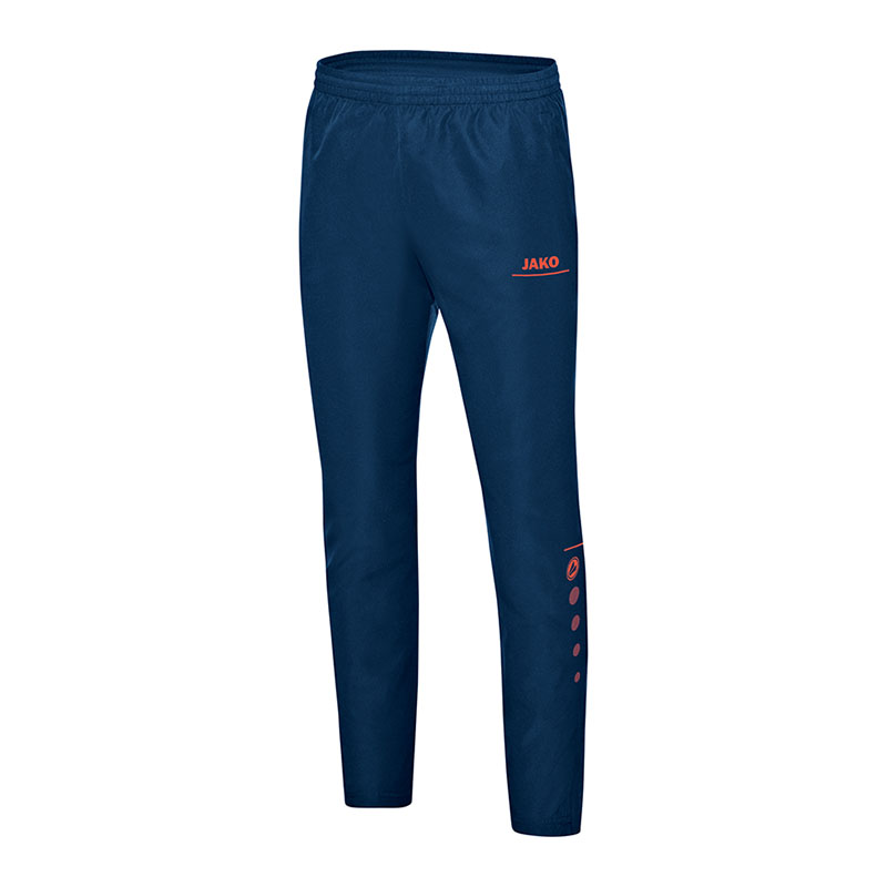Fußball Jako Striker Präsentationshose Blau Orange F18 Shorts & Hosen