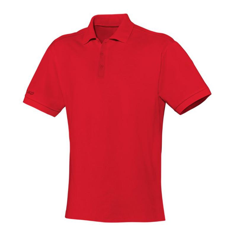 Jako Team Polo Poloshirt Kids Rot F01