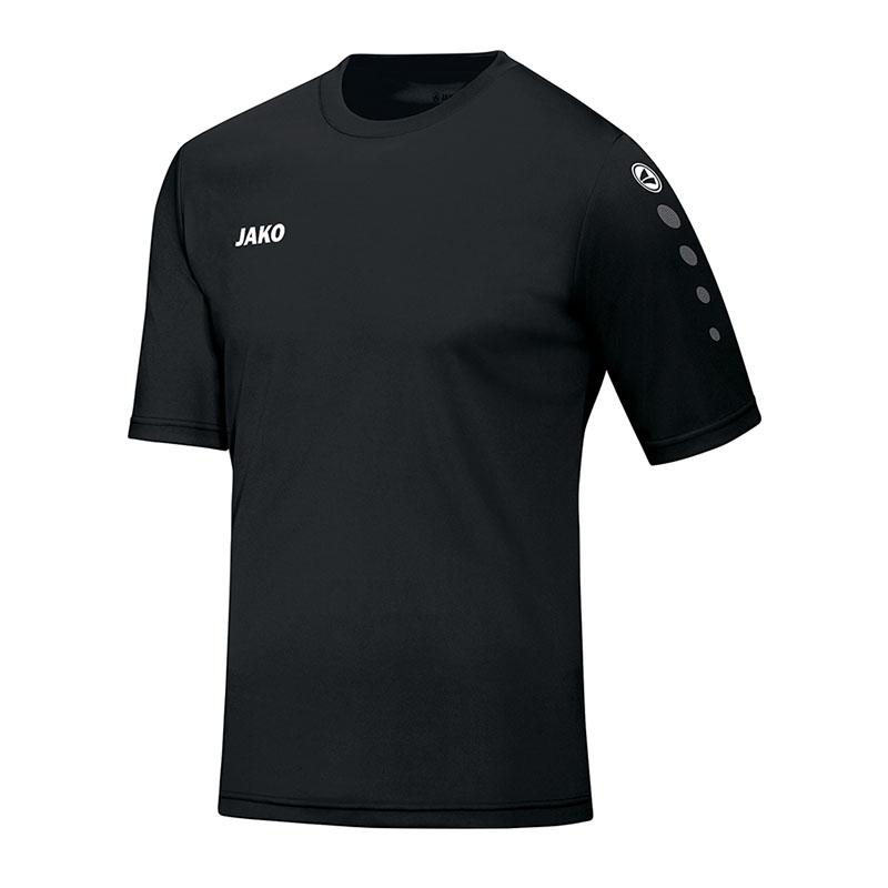 Jako-Team-Camiseta-Manga-Corta-Negro-F08