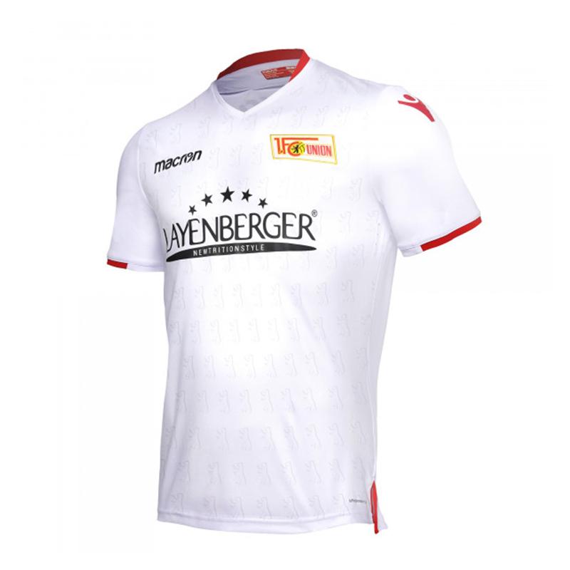 Macron 1. FC Unión Berlín Camiseta de Fuera 2018 2019