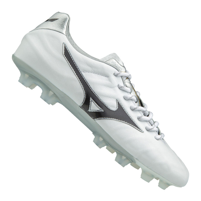 Mizuno Rebula v2 FG Bianco Nero | Scarpe da calcio