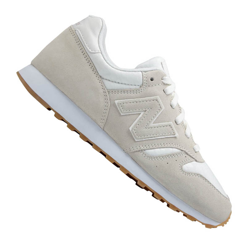NEW Balance wl373 leather sneaker donna f11