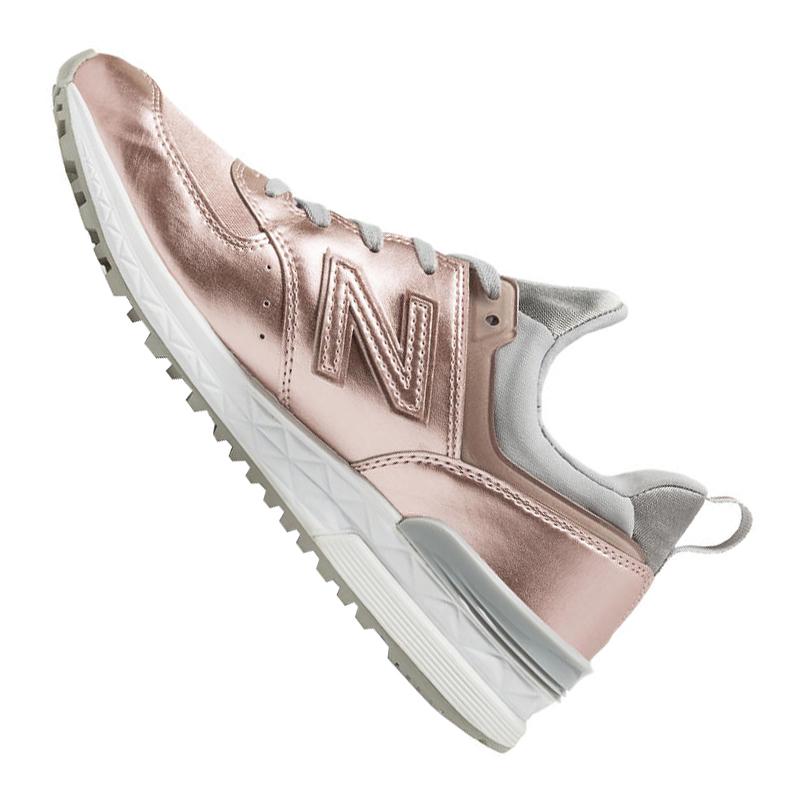 New-Balance-WS574-Sneaker-Women-039-s-Rosa-F10