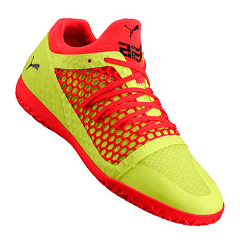 Puma 365 Netfit Ct It Indoor Yellow Red F05