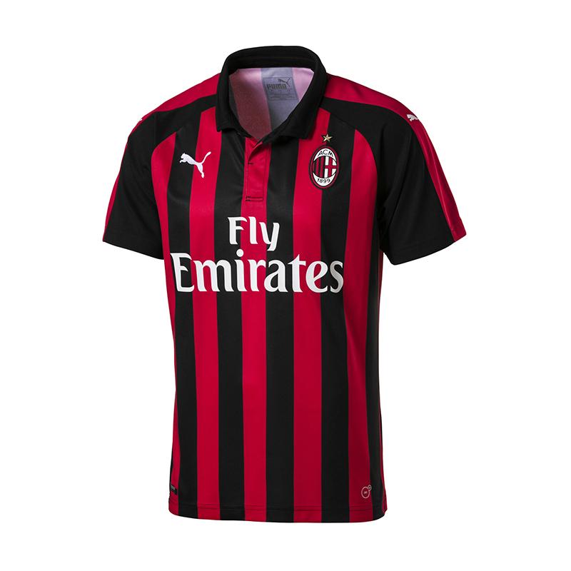Puma Ac Milán Camiseta Casa 2018 2019 Rojo F06