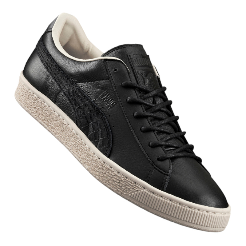 Puma basket klassische schwarze f04 citi sneaker