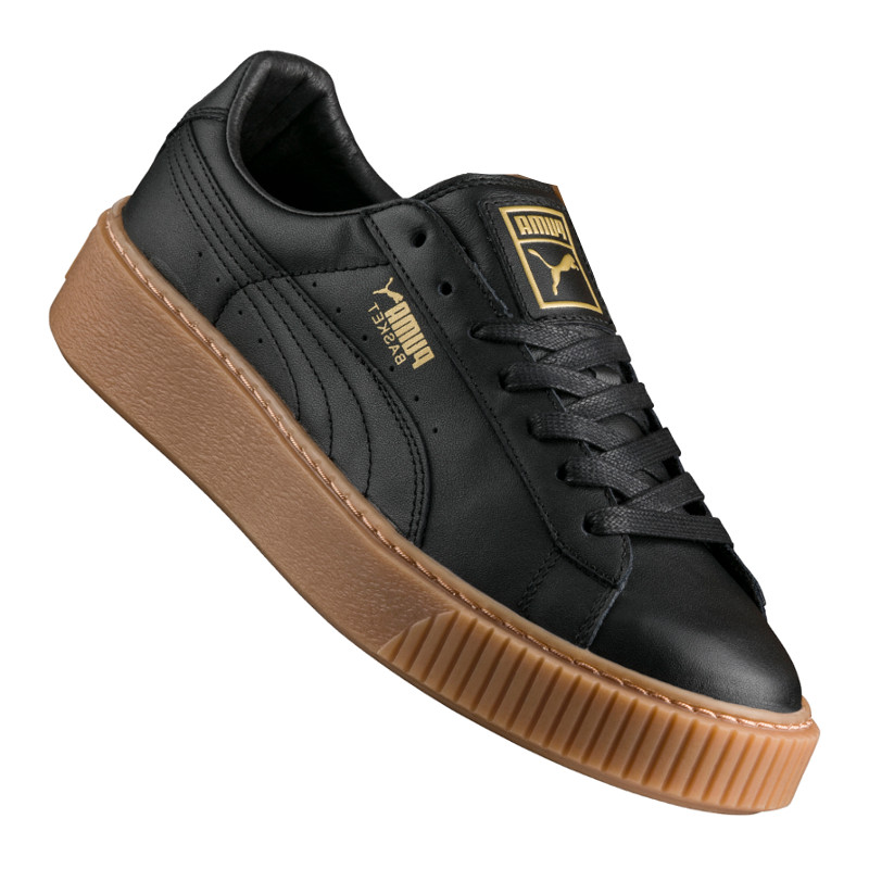 puma basket platform core sneaker damen f02 ebay. Black Bedroom Furniture Sets. Home Design Ideas