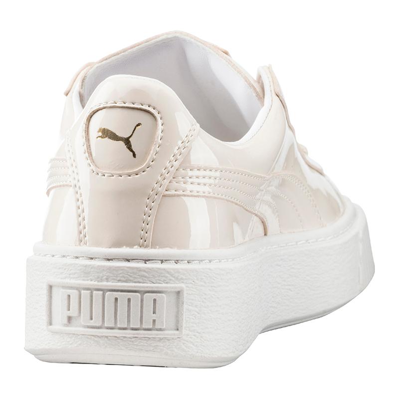 puma damen basket platform sneaker
