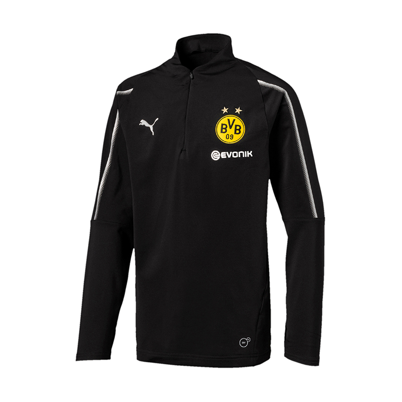 PUMA BVB 1/4 Dortmund 1/4 BVB Zip Training Top Kids F02 3ab56c