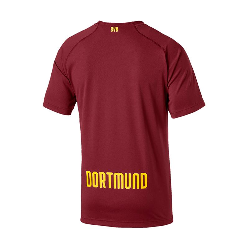 Puma Bvb Dortmund Dortmund Dortmund Camiseta Portero 2018 2019 Rojo F03 026f1b