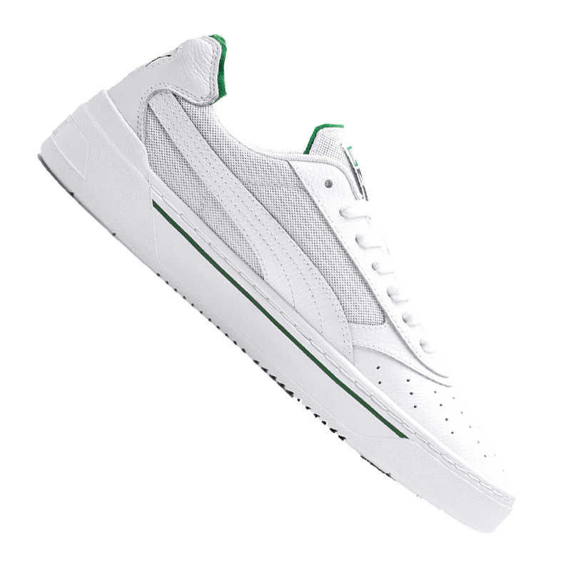 Puma Cali-0 Zapatillas whiteo green F02
