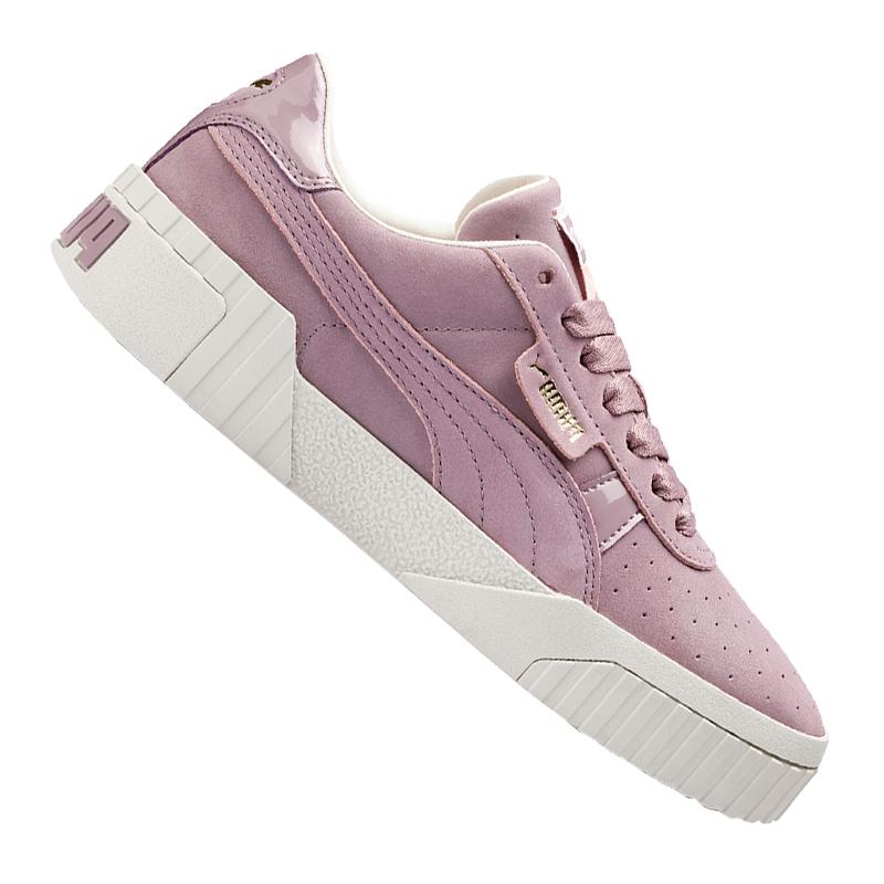 Nubuck Cali F02 Damen Sneaker Puma Lila qvOYOw