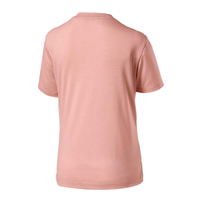 Puma-Classics-Logo-The-T-shirt-femme-rose-f31
