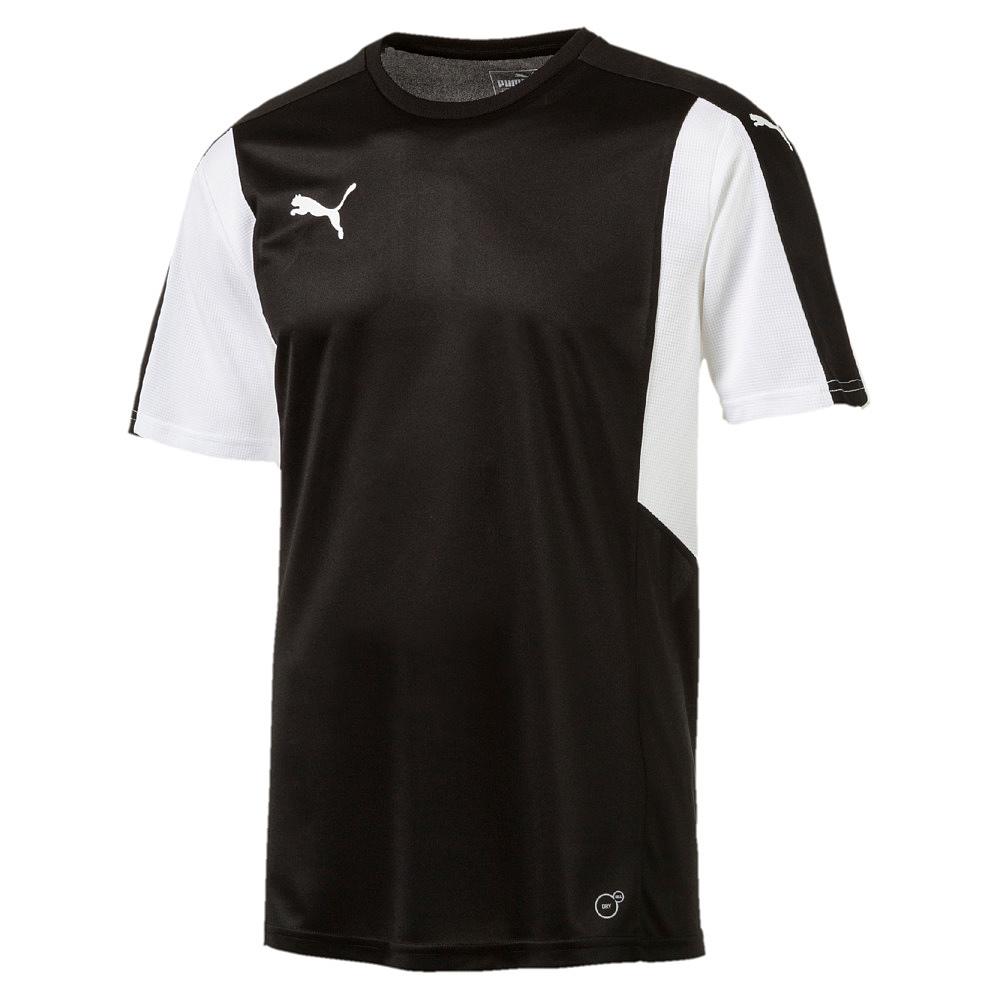 Puma-Dominate-Camiseta-Manga-Corta-Negro-Blanco-F03