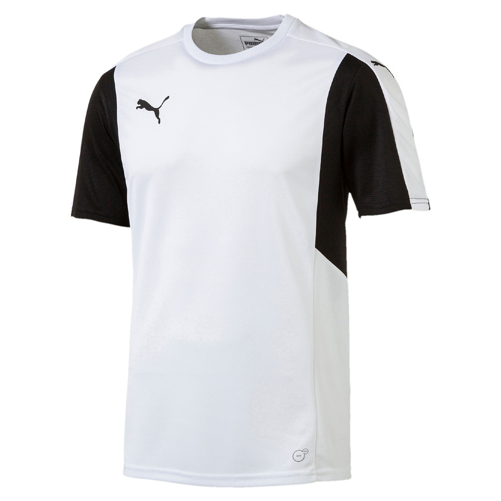 Puma-Dominate-Camiseta-manga-corta-blanco-y-negro-F04
