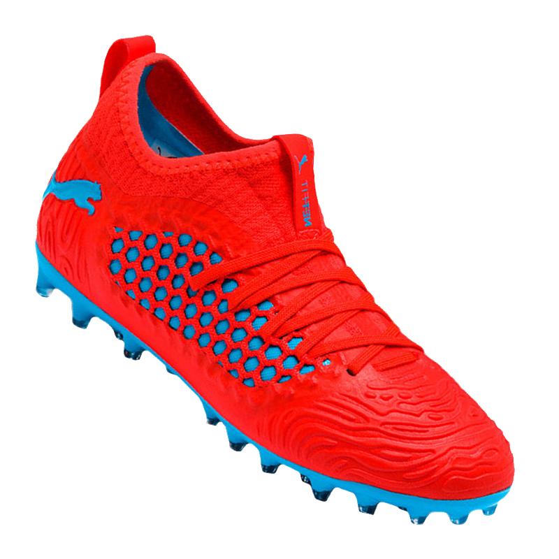 Puma Future 19 3 Netfit Mg Kids Red Blue F01 58 19 Picclick