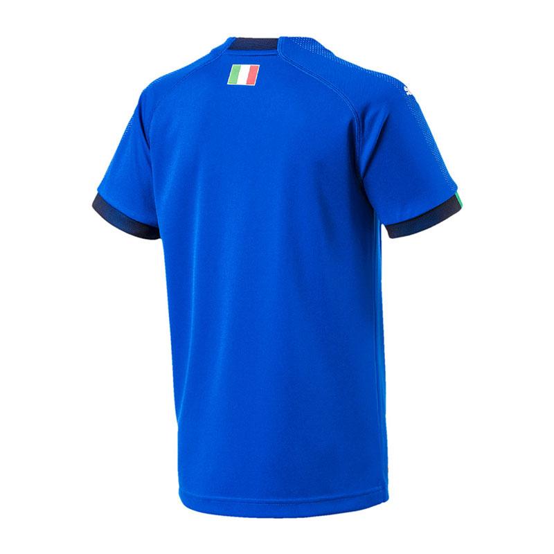 PUMA Italien Italien Italien Home Trikot WM 2018 Kids Blau F01 956019