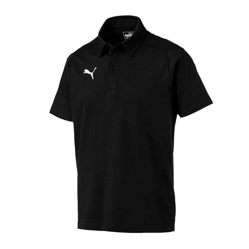 Puma Ligue Décontracté Haut Polo Noir F03 Produits De Qualité Selon La Qualité
