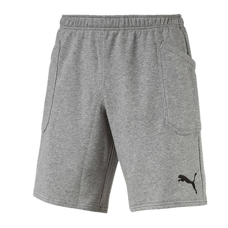Puma-Ligue-Decontracte-Shorts-Gris-F33